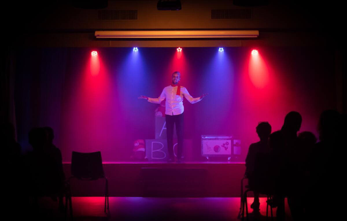 performing spoken poetry
